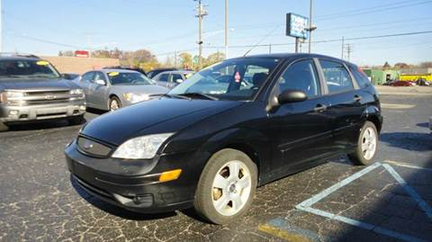 2007 Ford Focus for sale at TIGER AUTO SALES INC in Redford MI