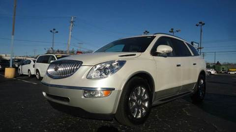 2011 Buick Enclave for sale at TIGER AUTO SALES INC in Redford MI