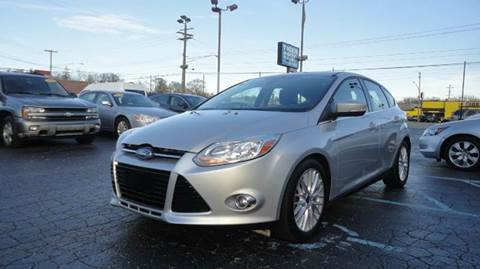2012 Ford Focus for sale at TIGER AUTO SALES INC in Redford MI