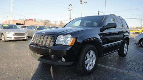 2008 Jeep Grand Cherokee for sale at TIGER AUTO SALES INC in Redford MI