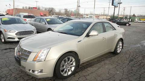 2009 Cadillac CTS for sale at TIGER AUTO SALES INC in Redford MI