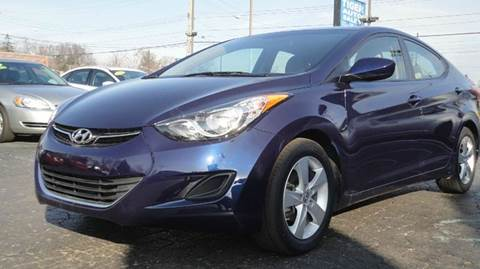 2013 Hyundai Elantra for sale at TIGER AUTO SALES INC in Redford MI