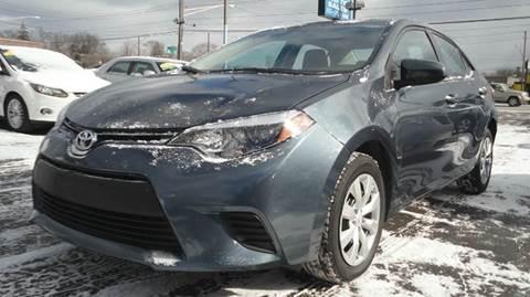 2014 Toyota Corolla for sale at TIGER AUTO SALES INC in Redford MI