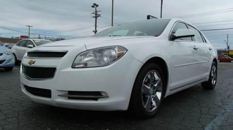 2012 Chevrolet Malibu for sale at TIGER AUTO SALES INC in Redford MI
