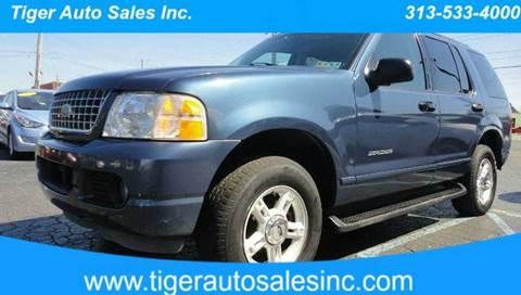 2004 Ford Explorer for sale at TIGER AUTO SALES INC in Redford MI