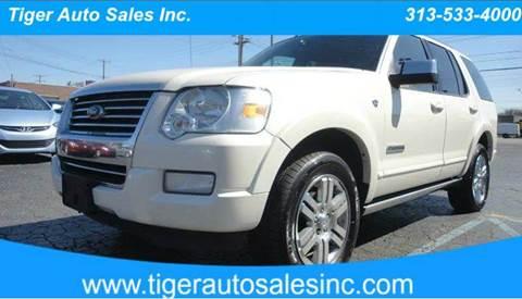 2007 Ford Explorer for sale at TIGER AUTO SALES INC in Redford MI