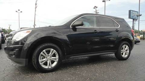 2011 Chevrolet Equinox for sale at TIGER AUTO SALES INC in Redford MI