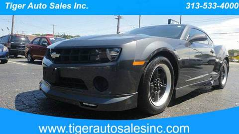 2011 Chevrolet Camaro for sale at TIGER AUTO SALES INC in Redford MI