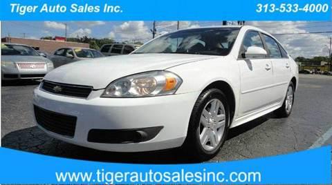 2011 Chevrolet Impala for sale at TIGER AUTO SALES INC in Redford MI