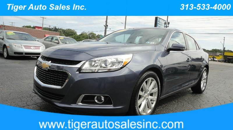 2015 chevrolet malibu lt 4dr sedan w 2lt in redford mi. Black Bedroom Furniture Sets. Home Design Ideas