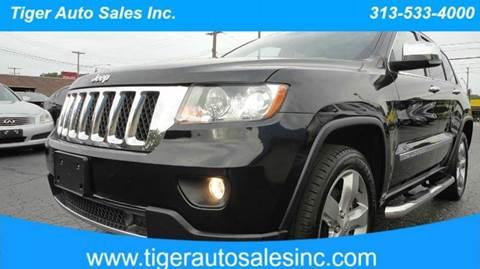 2013 Jeep Grand Cherokee for sale at TIGER AUTO SALES INC in Redford MI