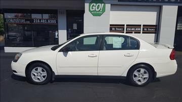 2005 Chevrolet Malibu for sale at GO Auto Store - Guaranteed Credit  Approval in Cleveland OH