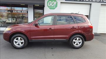 2007 Hyundai Santa Fe for sale at GO Auto Store - Fast and Easy Credit Approval in Cleveland OH