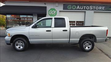 2005 Dodge Ram Pickup 1500 for sale at GO Auto Store - Guaranteed Credit  Approval in Cleveland OH