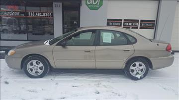 2006 Ford Taurus for sale at GO Auto Store - Fast and Easy Credit Approval in Cleveland OH