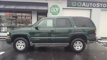 2004 Chevrolet Tahoe for sale at GO Auto Store - Fast and Easy Credit Approval in Cleveland OH