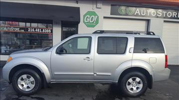 2007 Nissan Pathfinder for sale at GO Auto Store - Fast and Easy Credit Approval in Cleveland OH