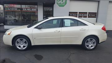 2009 Pontiac G6 for sale at GO Auto Store - in Cleveland OH