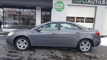 2007 Pontiac G6 for sale at GO Auto Store - in Cleveland OH