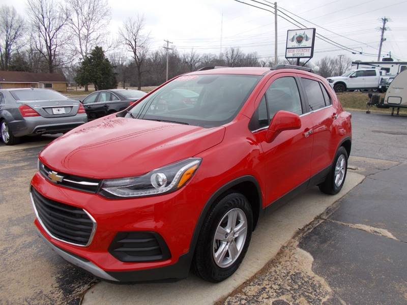 2018 Chevrolet Trax Lt 4dr Crossover In Mountain Home Ar High