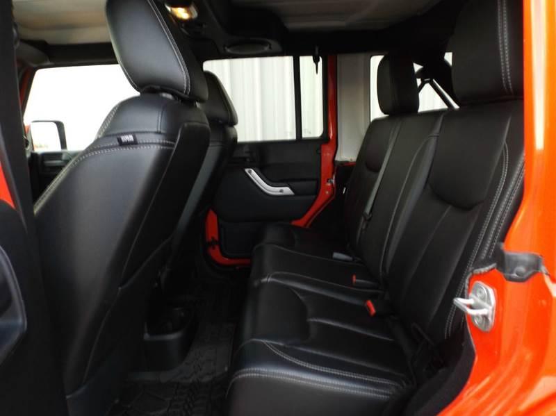 2013 Jeep Wrangler Unlimited Sahara 4x4 4dr SUV - Mountain Home AR