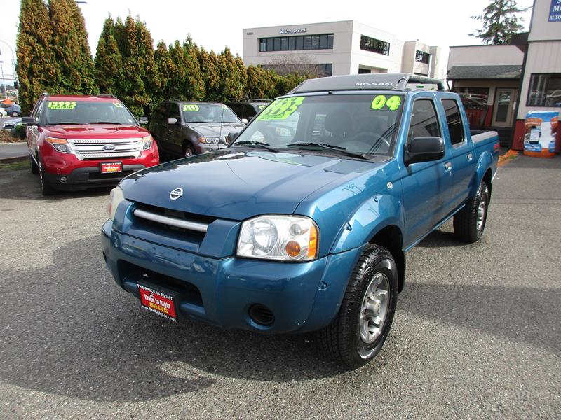 2004 Nissan Frontier 4dr Crew Cab Xe V6 4wd Sb In Lynnwood Wa The