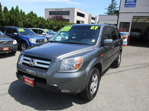 2007 Honda Pilot for sale in Lynnwood, WA