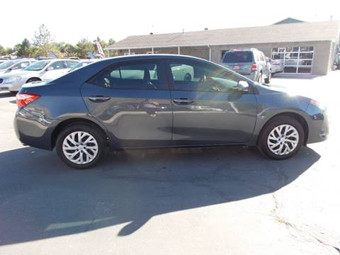 2018 Toyota Corolla for sale at Firehouse Auto Sales in Springville UT