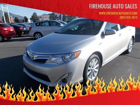 2013 Toyota Camry Hybrid for sale at Firehouse Auto Sales in Springville UT