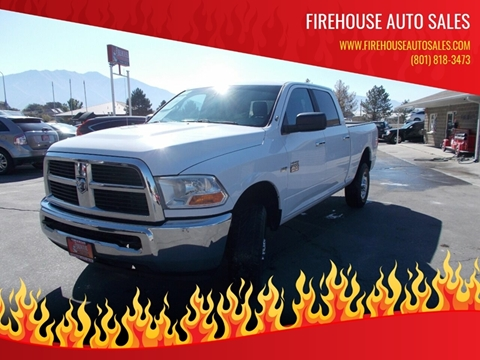 2012 RAM Ram Pickup 2500 for sale at Firehouse Auto Sales in Springville UT