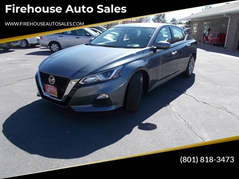 2019 Nissan Altima for sale at Firehouse Auto Sales in Springville UT