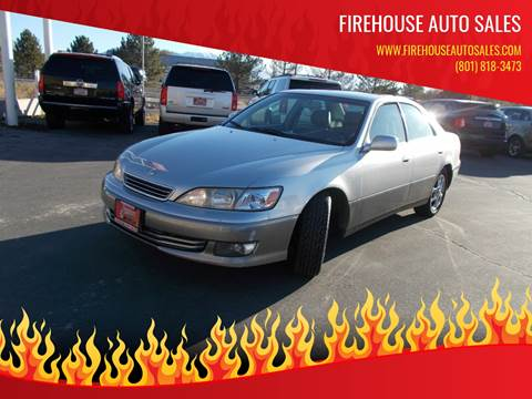 2001 Lexus ES 300 for sale at Firehouse Auto Sales in Springville UT