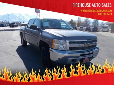 2013 Chevrolet Silverado 1500 for sale at Firehouse Auto Sales in Springville UT