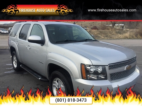 2010 Chevrolet Tahoe for sale at Firehouse Auto Sales in Springville UT