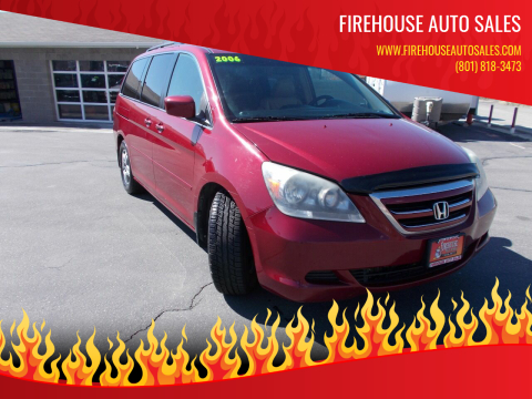 2006 Honda Odyssey for sale at Firehouse Auto Sales in Springville UT