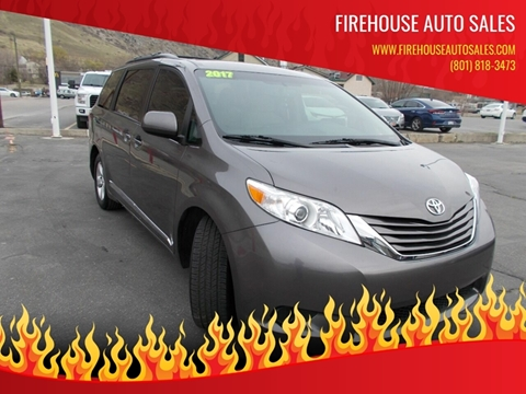 2017 Toyota Sienna for sale at Firehouse Auto Sales in Springville UT