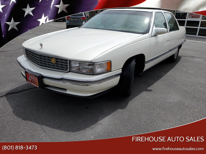 1996 Cadillac DeVille for sale at Firehouse Auto Sales in Springville UT