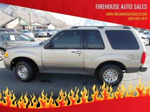 2001 Ford Explorer Sport for sale at Firehouse Auto Sales in Springville UT