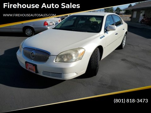 2008 Buick Lucerne for sale at Firehouse Auto Sales in Springville UT