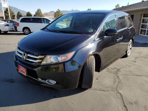2014 Honda Odyssey for sale at Firehouse Auto Sales in Springville UT