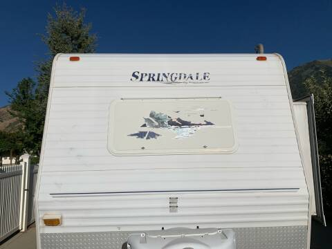 2006 Keystone Springdale for sale at Firehouse Auto Sales in Springville UT