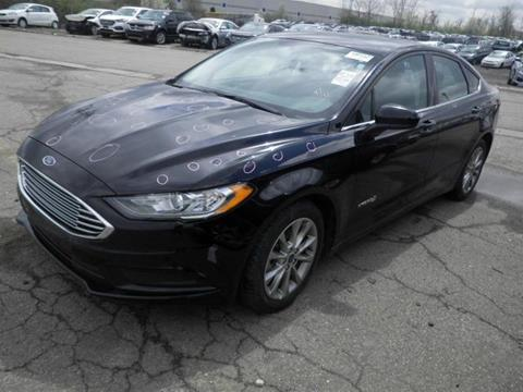 2017 Ford Fusion Hybrid for sale in Hamilton, OH