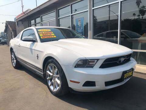 2010 Ford Mustang for sale at Devine Auto Sales in Modesto CA