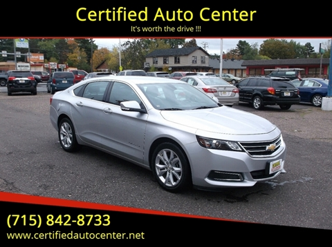 2017 Chevrolet Impala for sale in Wausau, WI