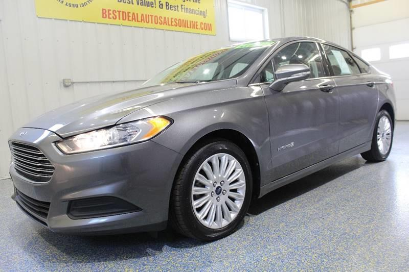 2013 ford fusion hybrid se in fort wayne in - best deal auto sales