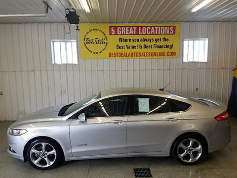 2013 Ford Fusion Hybrid for sale in Warsaw, IN