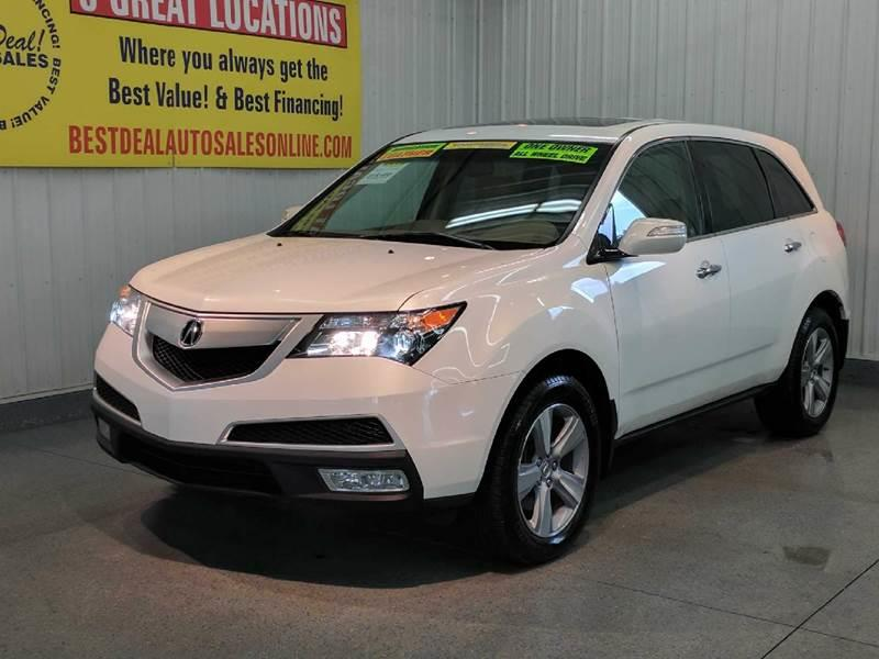 Acura MDX SHAWD WTech In Fort Wayne IN Best Deal Auto Sales - Acura mdx value