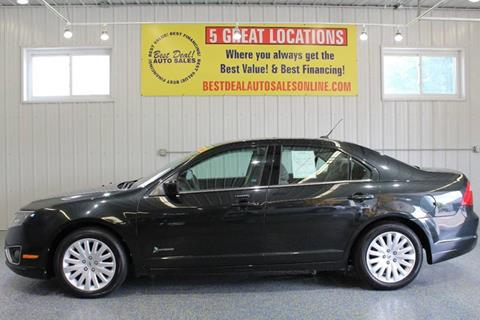 2010 Ford Fusion Hybrid for sale in Fort Wayne, IN