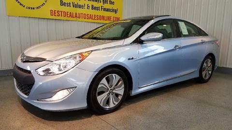 2013 Hyundai Sonata Hybrid for sale in Auburn, IN