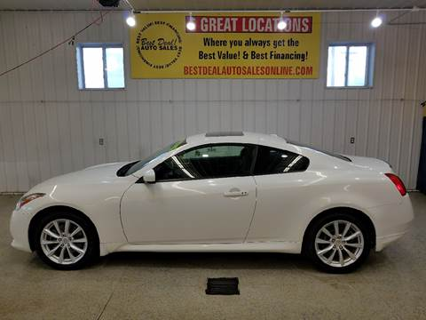 2012 Infiniti G37 Coupe for sale in Auburn, IN